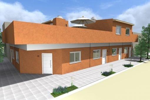 3 ambientes a estrenar sin expensas con patio y terraza