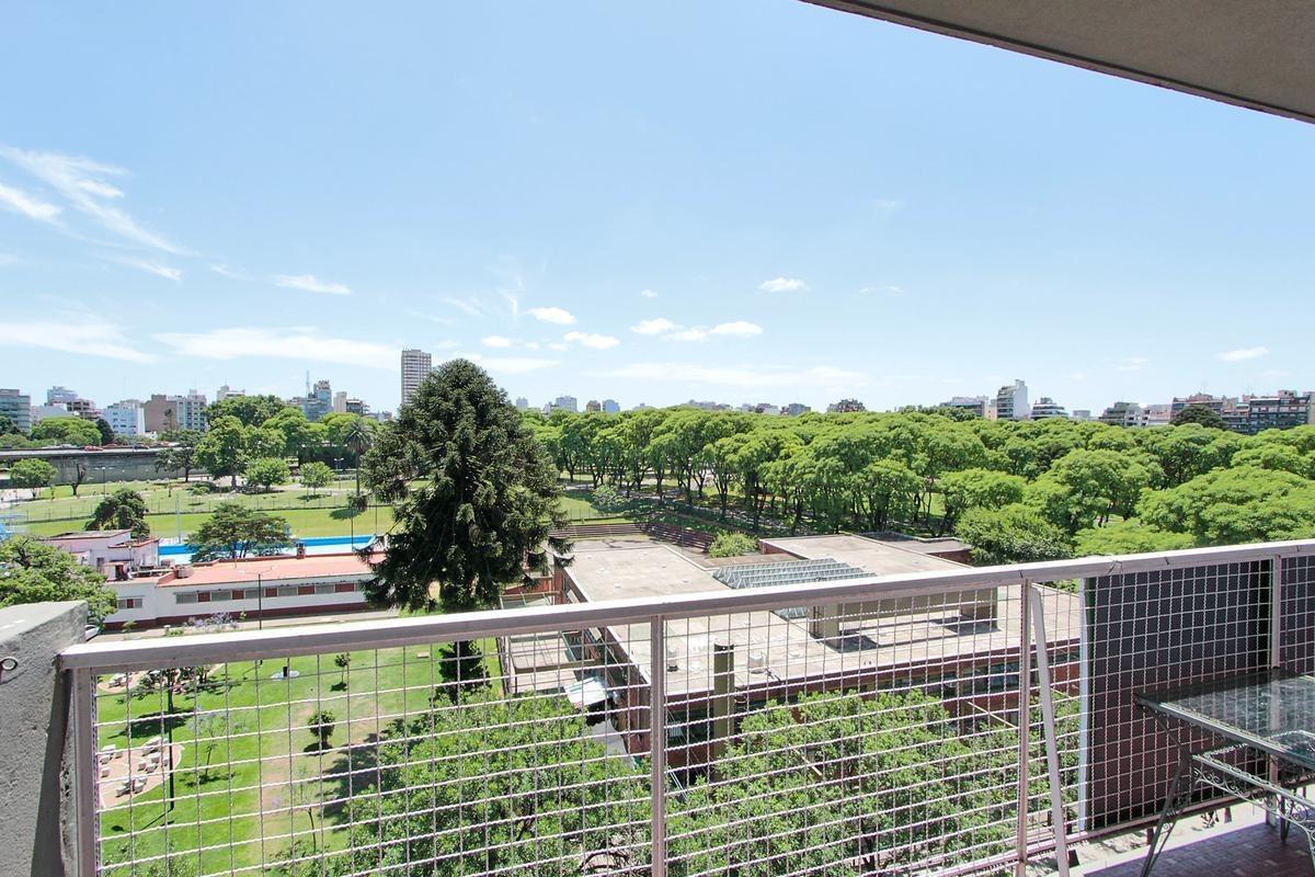 3 ambientes balcón frente vista abierta al parque chacabuco
