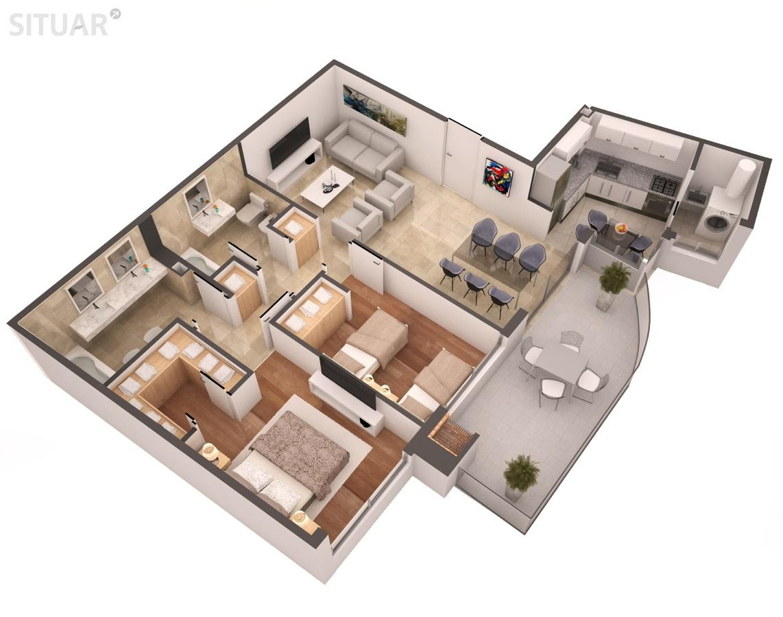 3 ambientes caballito pavillon parrilla individual amenities