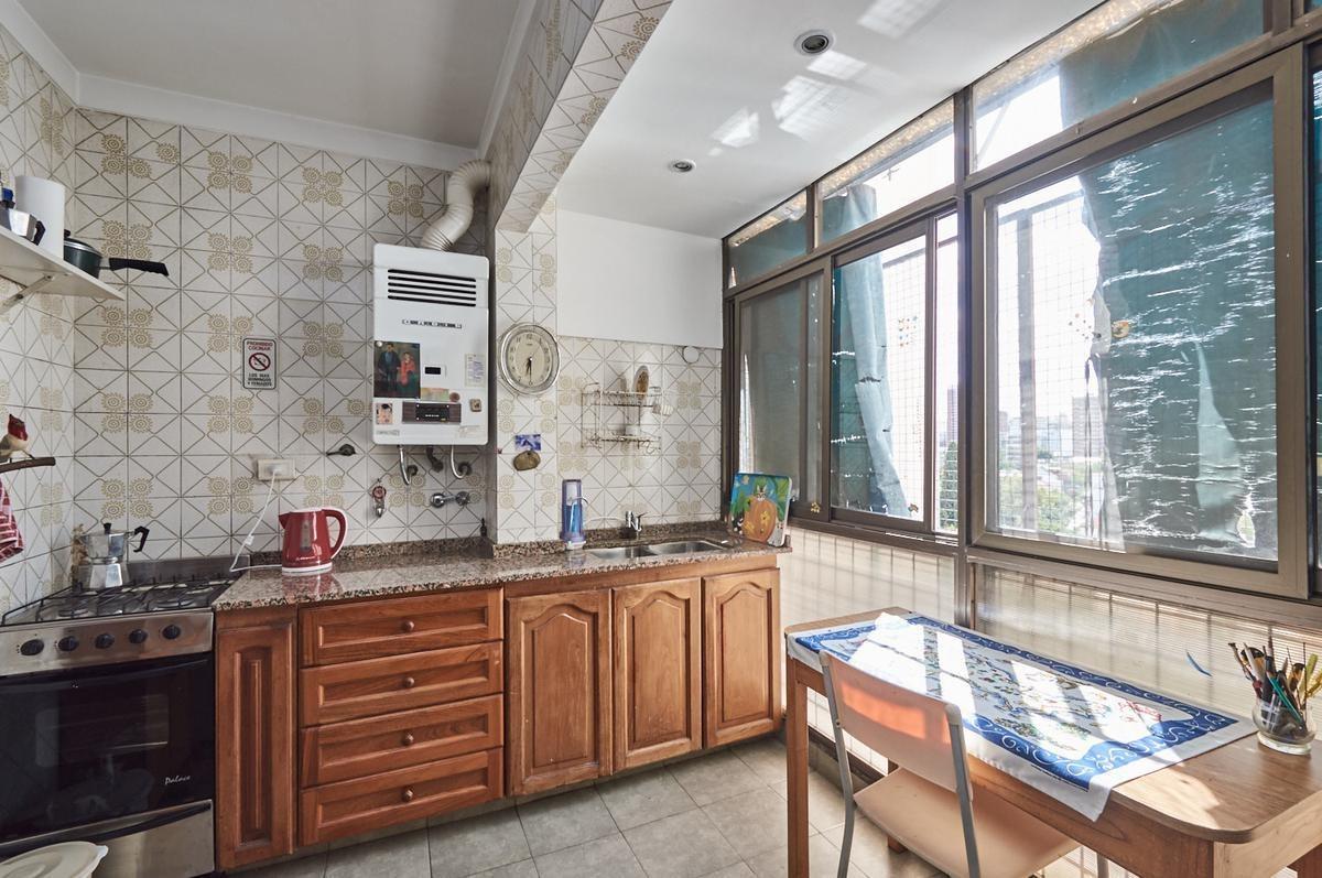3 ambientes con balcón aterrazado cocina comedor