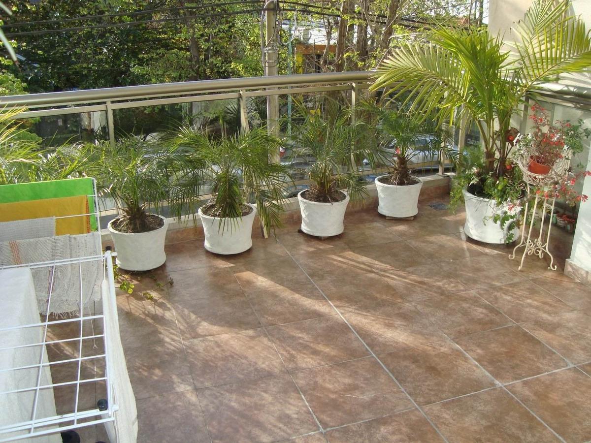 3 ambientes con balcon terraza-cochera