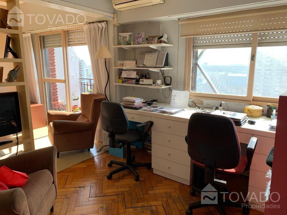 3 ambientes con escritorio! hermosas vistas panoramicas al rio!