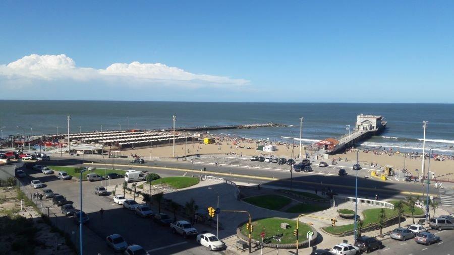 3 ambientes con vista al mar!!