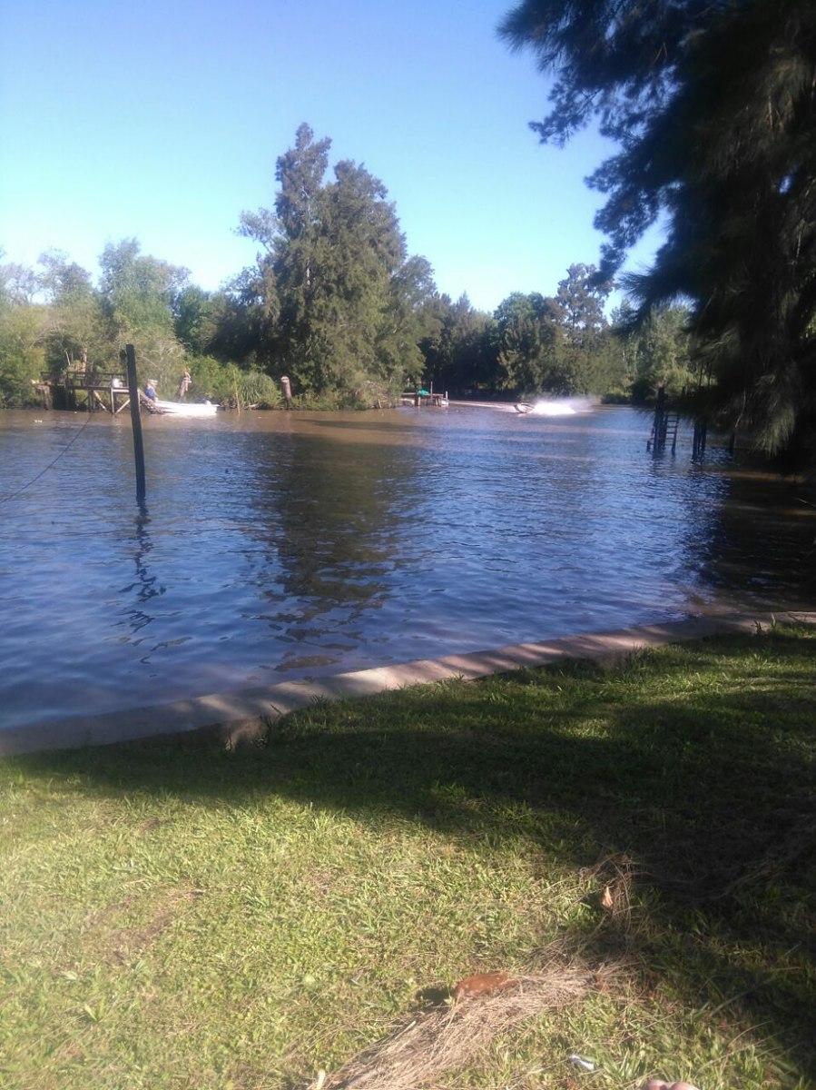 3 ambientes, delta rio carapachay 4800mts, zona  tranquila
