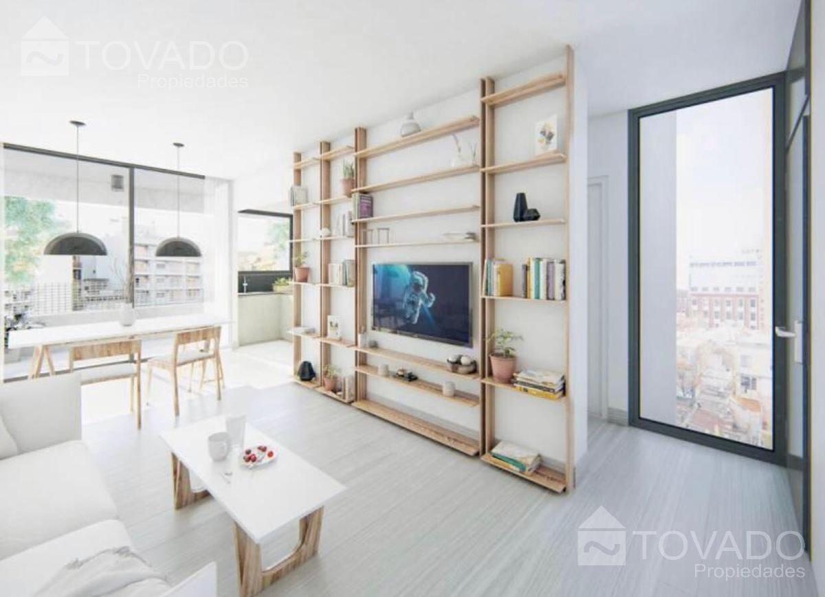 3 ambientes en venta en palermo soho - en construccion!