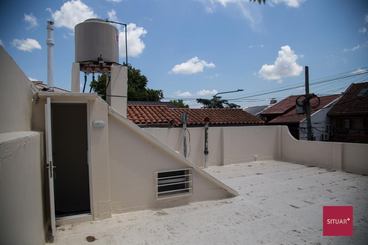 3 ambientes patio y terraza  vicente lopez vias maipu