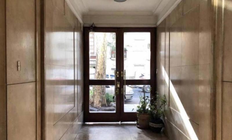 3 ambientes remodelado a 2 ambientes amplios - palermo
