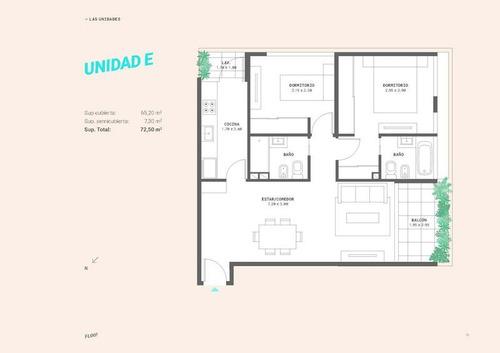 3 ambientes unidad a 3º piso