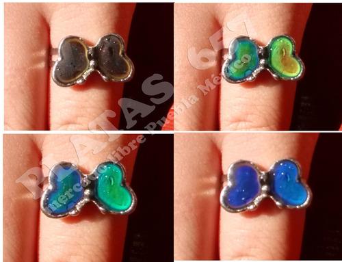 3 anillos cambian de color, del humor varios modelo