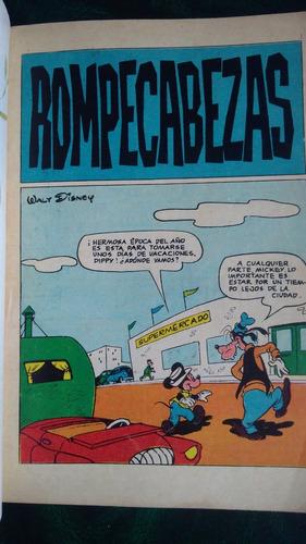 3 antiguos comics disney.club mickey 1963 - tío rico mcpato