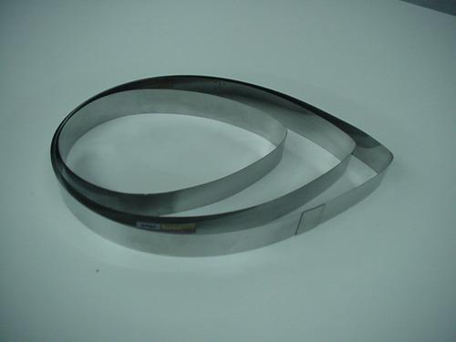 3 aros cintura p bizcochuelo forma de gota o petalo p tortas