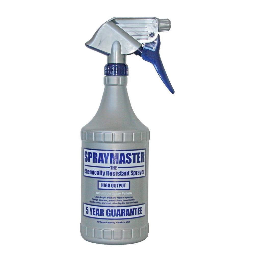 3 Atomizadores Spraymaster Resistente A Quimicos De 32 Oz