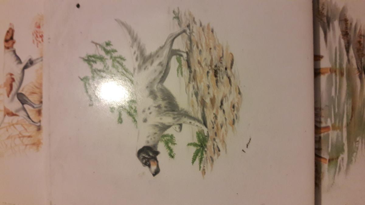 3 Azulejos Con Dibujos De Perros 99000 En Mercado Libre - Azulejos-con-dibujos