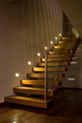 3 Balizador Lumin 225 Ria Led Luz Deck Escada Parede Externo