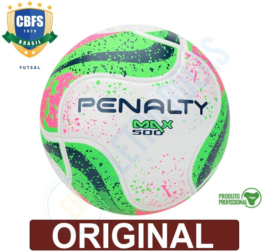 3087fc492e10d 3 bolas futsal futebol max 500 vii oficial fifa prof penalty. Carregando  zoom.