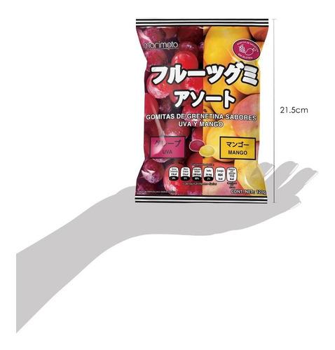 3 bolsas de gomitas, dulce típico japonés (sabor a elegir)