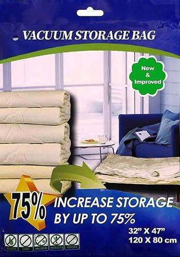 3 bolsas jumbo de vacío almacenar ahorrar espacio 90 x 70