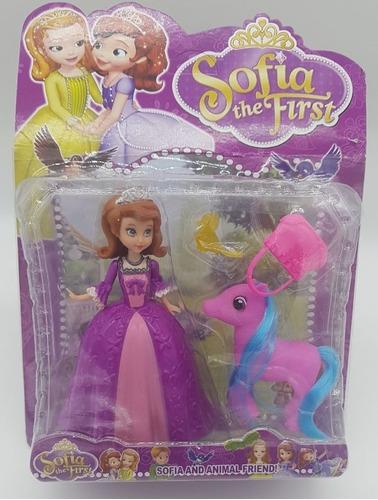 3 bonecas princesas:  2 sofia e 1 amber + ponei + acessorios