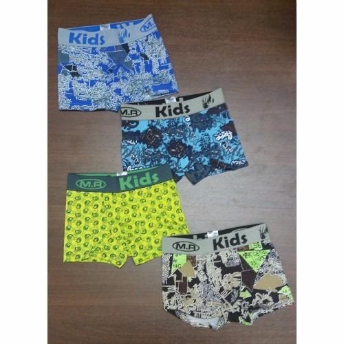 3 bóxers niños, camisetas, x $ 5,00 promocioneslafamilia