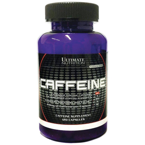 3 caffeine (120 caps) - total 360 cps ultimate nutrition