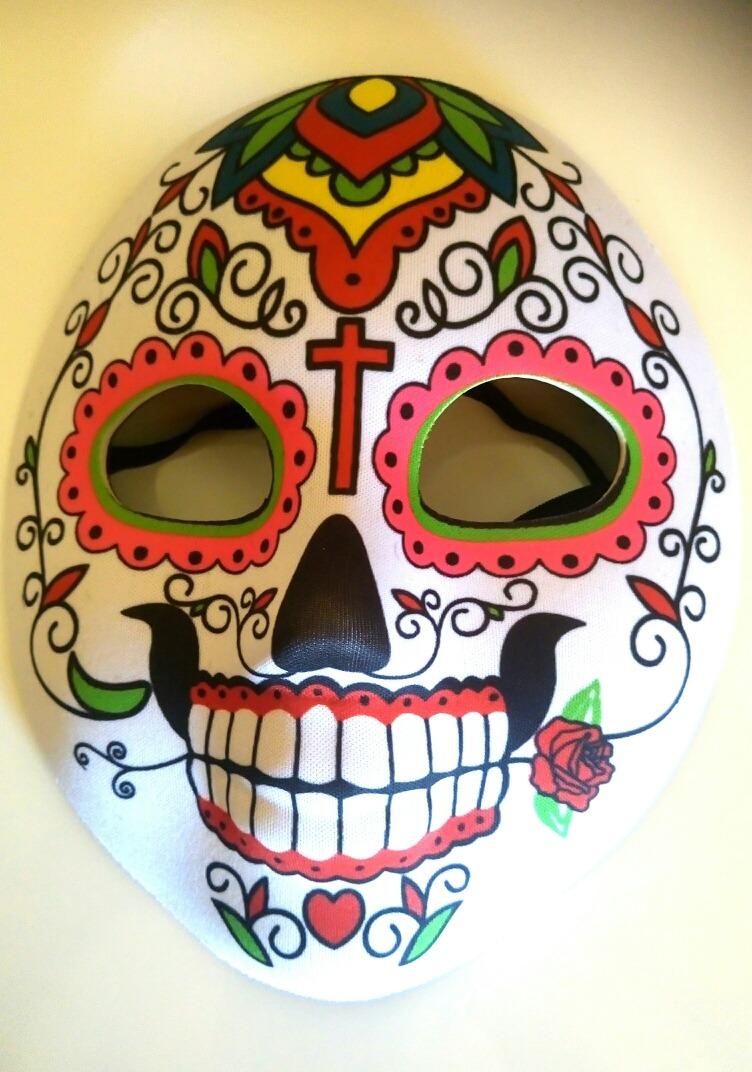 3 Calacas Mexicanas Mascara Dia De Los Muertos Cotillon 20990