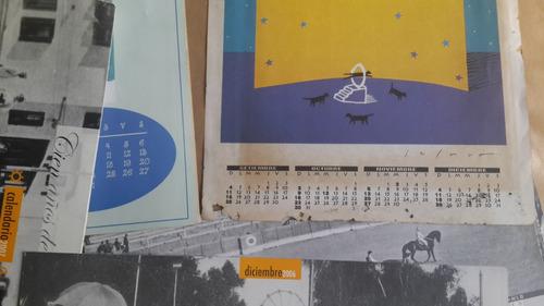 3 calendario almanaque club grabado y otros, fotos