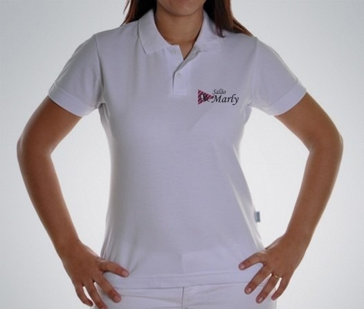 e8d08a8a47 3 Camisa Gola Polo Branca - 1m Masculina - 2 Feminina 1m 1g - R  75 ...