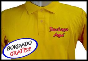 138668ee8 Camisa Polo Personalizada Bordada - Pólos Manga Curta Masculinas no ...