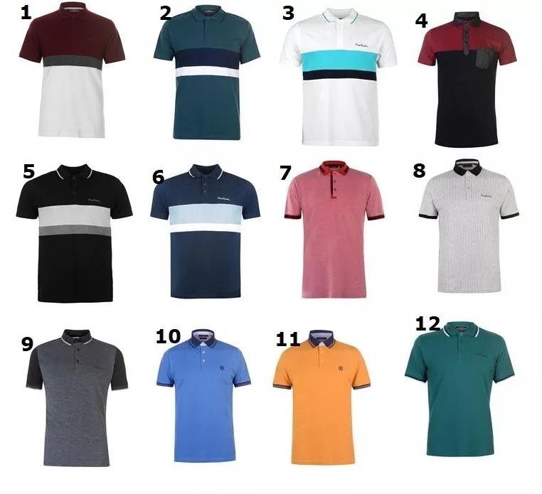 4d82cb7720a13 3 Camisas Polo Pierre Cardin Plus Size Luxo Produto Original - R ...