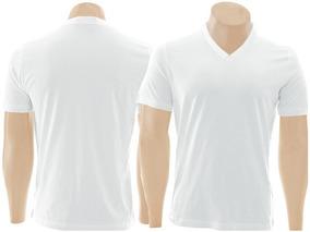 55a7c948ee Camisetas De Malha Gola V - Calçados