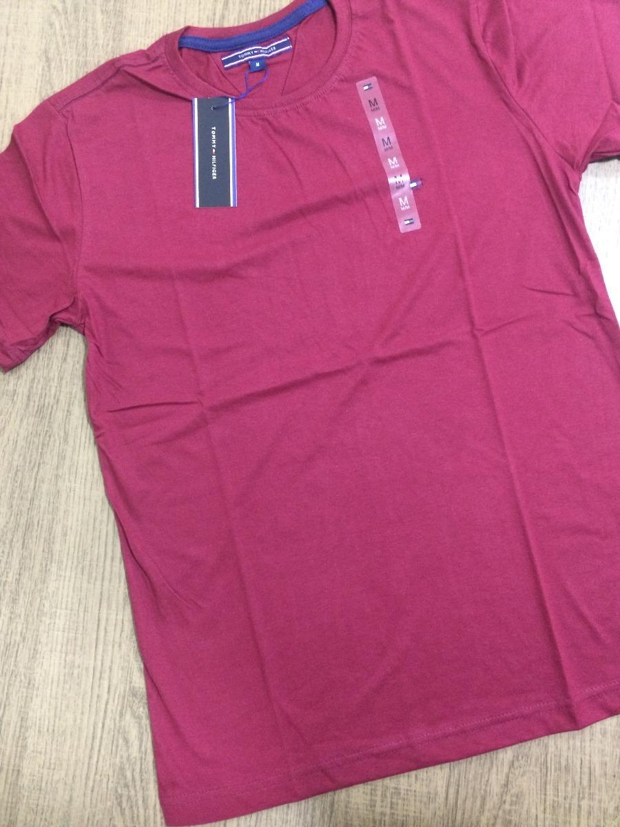 9bfe51625 3 Camisetas Camisas Tommy Hilfiger Básicas Peruanas ! - R$ 150,00 em ...