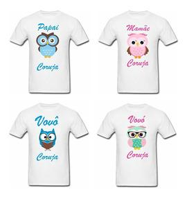 50f48d492 Camiseta Vovo - Camisetas Curta com o Melhores Preços no Mercado Livre  Brasil