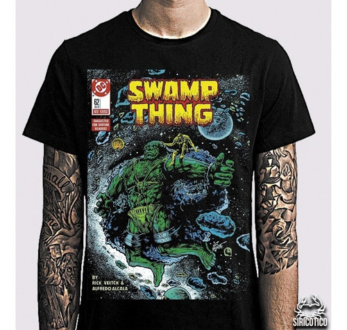 3 camisetas monstro do pantano, 4 fantástico