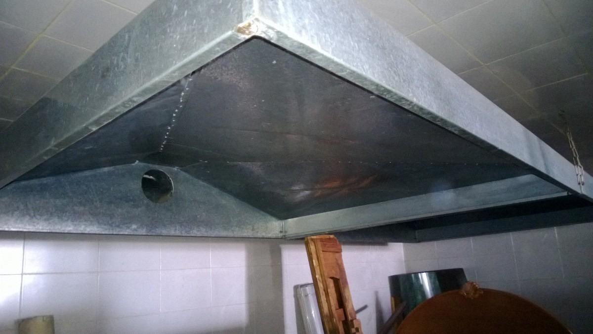 3 campanas extractoras las tres acero galvanizado - Acero galvanizado precio ...
