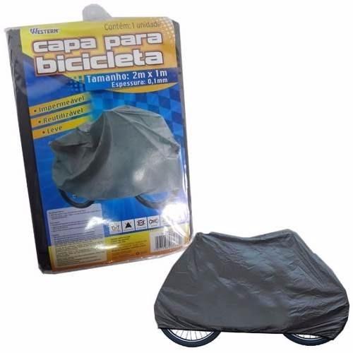 3 capa protetora impermeável para bike bicicleta sol e chuva