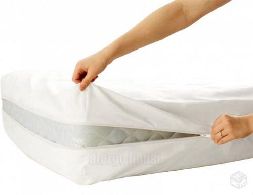 3 capas protetor colchão solt. ziper+ 3 capas de travesseiro