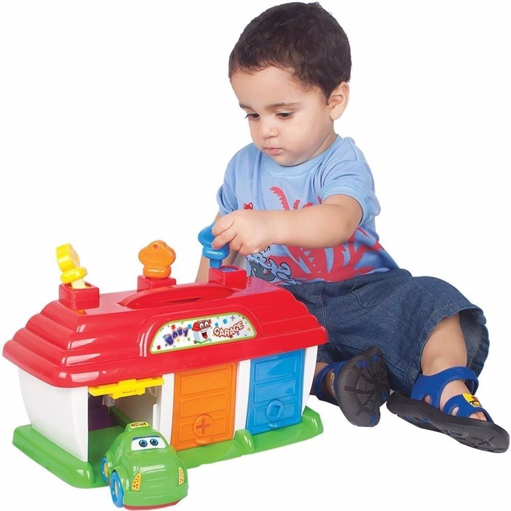 3 carrinhos com garagem baby garage brinquedo bebe big star r 71 99 em mercado livre - Vender garaje ...