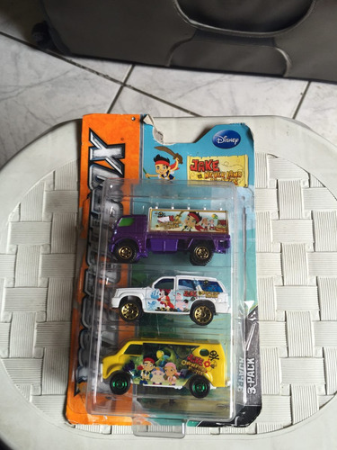 3 carrinhos matchbox pirata jake