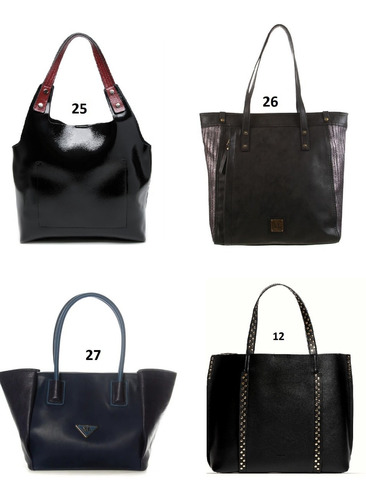 3 carteras mochilas bolsos prune xl combo mayorista