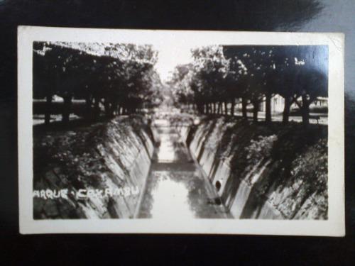 3 cartões postais antigo de caxambú