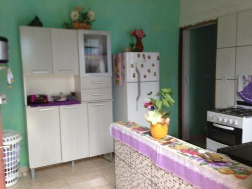 3 casa e salão para comércio no gaivota, em itanhaém,