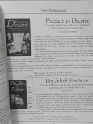 3 catalogos  oak knoll books - livros raros e antigos