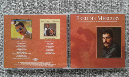 3 cds freddie mercury ( mr bad guy , barcelona e bonus )