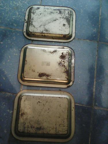 3 charolas diferentes de canada y atlanta muy bonitas