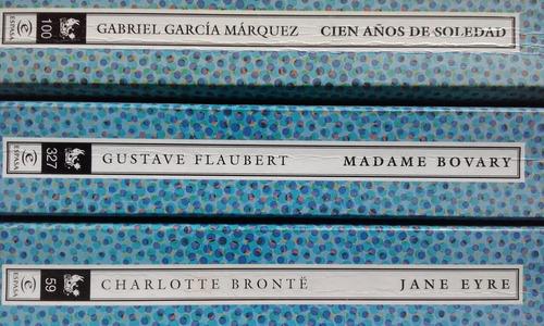 3 clasicos garcia marquez- eyre-flaubert