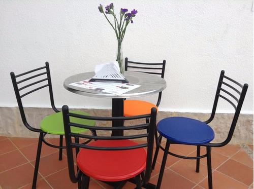 3 combos sillas y mesas para negocio