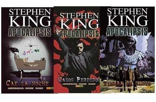 3 comics stephen king apocalipsis 4-5-6 + envío gratis
