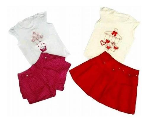 3 conjuntos infantil menina skinny crianças slim 1 a 12 anos