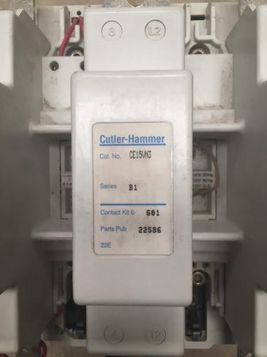 3 contactores magnéticos 550 amp