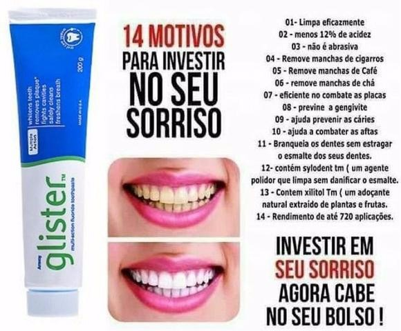 3 Creme Dental Pasta Dente Clareador 200g Enxaguante Amway R